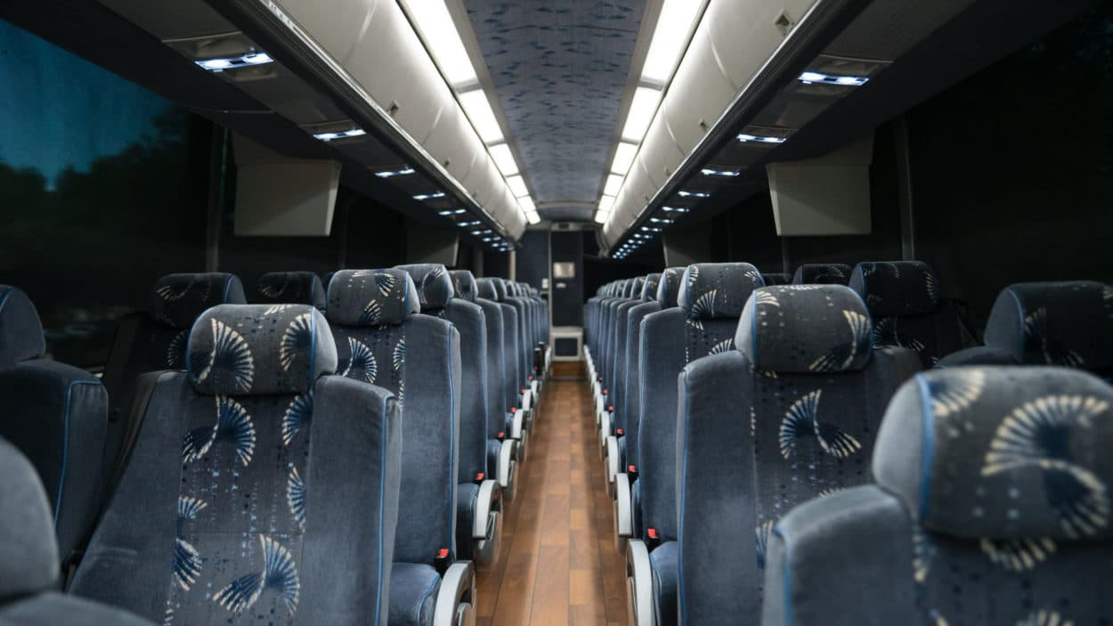 motorcoach interior image